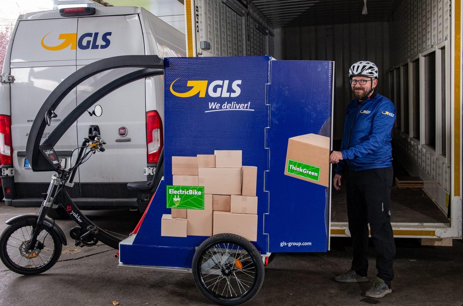 Cyklokurýr GLS