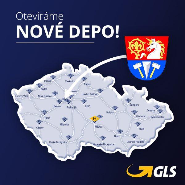 GLS otevírá nové depo